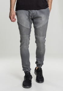 Urban Classics TB1877 - Pantalon jogging denim motard