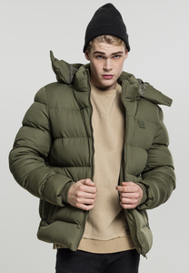 Urban Classics TB1879 - Hooded Boxy Puffer Jacket