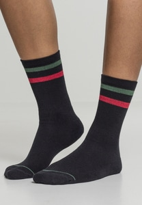 Urban Classics TB1883 - 3-Tone College Socks 2 Pack