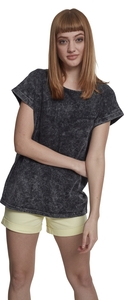 Urban Classics TB1920 - Ladies Random Wash Extended Shoulder Tee