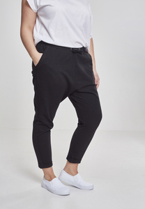 Urban Classics TB1962 - Ladies Open Edge Terry Turn Up Pants