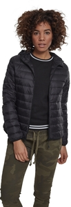 Urban Classics TB2008 - Ladies Basic Hooded Down Jacket