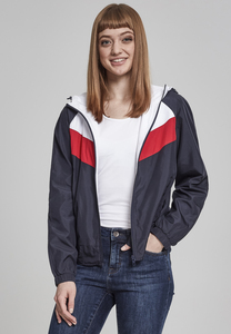 Urban Classics TB2009 - Ladies 3-Tone Windbreaker