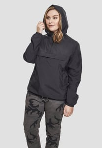 Urban Classics TB2013 - Ladies Basic Pull Over Jacket