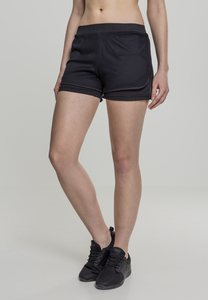 Urban Classics TB2028 - Ladies Double Layer Mesh Shorts