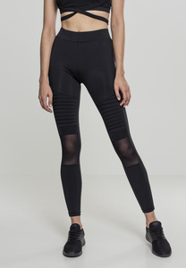 Urban Classics TB2034 - Ladies Tech Mesh Biker Leggings