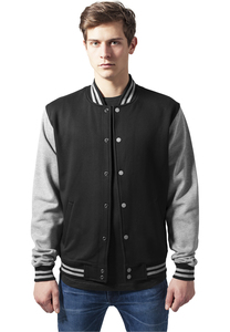 Urban Classics TB207 - 2-tone College Sweatjacket