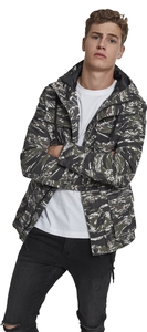 Urban Classics TB2093 - Tiger Camo Cotton Jacket
