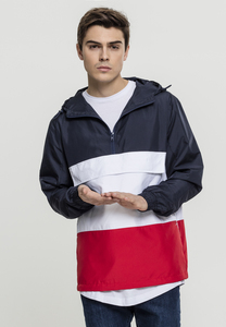 Urban Classics TB2101 - Color Block Pull Over Jacket