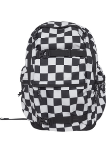 Urban Classics TB2155 - Backpack Checker black & white