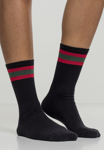 Urban Classics TB2159 - Stripy Sport Socks 2-Pack