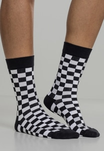 Urban Classics TB2162 - Checker Socks 2-Pack