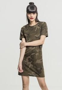 Urban Classics TB2221 - T-shirt robe pour dames camouflage