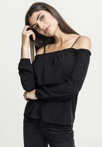 Urban Classics TB2224 - Ladies Cold Shoulder Longsleeve