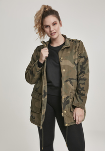 Urban Classics TB2243 - Ladies Camo Cotton Parka