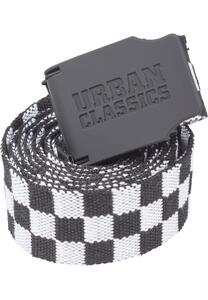 Urban Classics TB2248 - Cintura UC Canvas Checkerboard 150cm