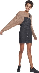 Urban Classics TB2368 - Robe salopette denim pour dames