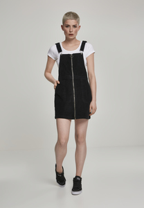 Urban Classics TB2369 - Ladies Corduroy Dungaree Dress