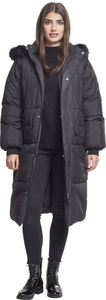 Urban Classics TB2382 - Ladies Oversize Faux Fur Puffer Coat