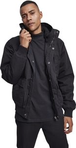 Urban Classics TB2422 - Hooded Cotton Jacket