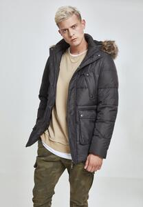 Urban Classics TB2430 - Faux Fur Hooded Jacket