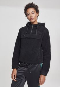 Urban Classics TB2448 - Ladies Sherpa Pull Over Hoody