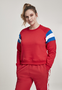 Urban Classics TB2458 - Ladies Sleeve Stripe Crew