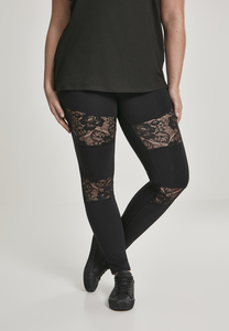 Urban Classics TB2593 - Ladies Laces Inset Leggings