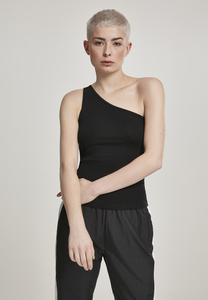 Urban Classics TB2608 - Ladies Asymmetric Top