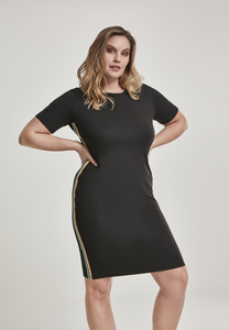 Urban Classics TB2643 - Ladies Multicolor Side Taped Dress