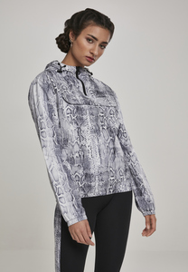 Urban Classics TB2673 - Ladies Pattern Pull Over Jacket