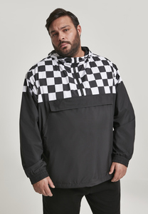 Urban Classics TB2749 - Giacca Pull Over Check
