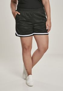 Urban Classics TB2840 - Ladies Stripes Mesh Hot Pants