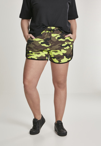 Urban Classics TB2843 - Ladies Printed Camo Hot Pants