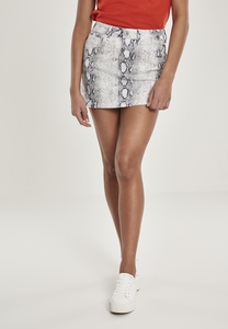 Urban Classics TB2850 - Ladies Animal Stretch Twill Skirt