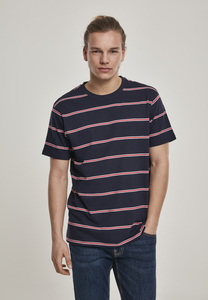 Urban Classics TB2875 - T-shirt a righe di pattini tinti in filo