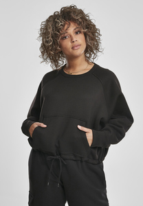 Urban Classics TB3017 - Ladies Oversized Short Raglan Crew