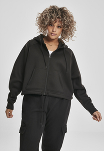 Urban Classics TB3018 - Ladies Oversized Short Raglan Zip Hoody