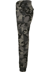 Urban Classics TB3047 - Ladies High Waist Camo Cargo Pants