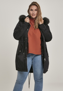 Urban Classics TB3053 - Ladies Faux Fur Parka