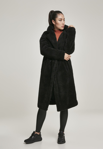 Urban Classics TB3059 - Ladies Oversized Teddy Coat