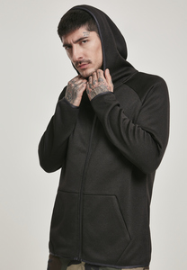 Urban Classics TB3113 - Strick-Fleece Zip-Kapuzenpulli