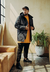Urban Classics TB3149 - Hooded Long Jacket