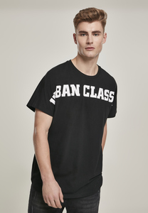 Urban Classics TB3183 - T-shirt long coupe ajustée grand logo