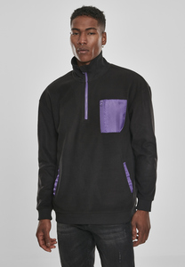 Urban Classics TB3192 - Contrast Polar Fleece Troyer