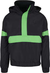 Urban Classics TB3201 - Giacca Pull Over 3-Tone Neon Mix