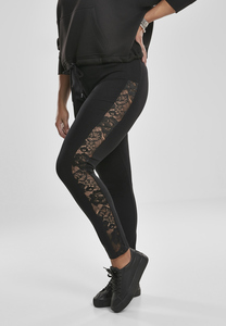 Urban Classics TB3216 - Ladies Lace Striped Leggings