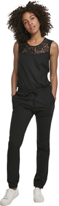 Urban Classics TB3217 - Ladies Lace Block Jumpsuit