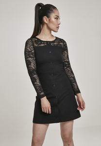 Urban Classics TB3218 - Ladies Lace Block Dress