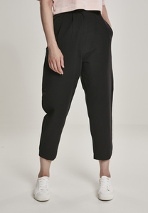 Urban Classics TB3237 - Ladies High Waist Cropped Pants